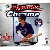 2013 Bowman Chrome Baseball Jumbo (HTA) Box