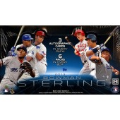 2013 Bowman Sterling Baseball Hobby 8 Box Case