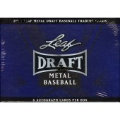 2013 Leaf Metal Draft Baseball Hobby 12 Box Case