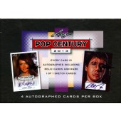 2013 Leaf Pop Century Trading Cards 12 Box Case
