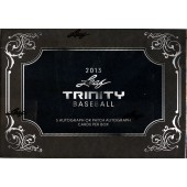 2013 Leaf Trinity Baseball Hobby 10 Box Case