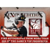2013 Panini Elite Extra Edition Baseball Hobby 20 Box Case
