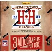 2013 Panini Hometown Heroes Baseball Hobby Box