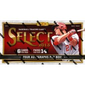 2013 Panini Select Baseball Hobby 12 Box Case