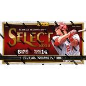 2013 Panini Select Baseball Hobby Box