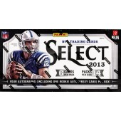 2013 Panini Select Football Hobby Box