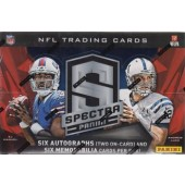 2013 Panini Spectra Football Hobby 8 Box Case