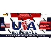 2013 Panini USA Baseball Set Box