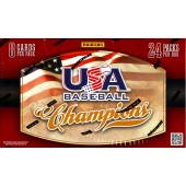 2013 Panini USA Baseball Champions Hobby 20 Box Case