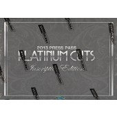2013 Press Pass Platinum Cuts Inscription Edition Hobby 12 Box Case