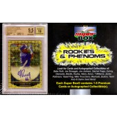 2013 Super Box Rookies And Phenoms Baseball 5 Box Case