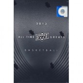 2013 Upper Deck All Time Greats Basketball Hobby 6 Box Case