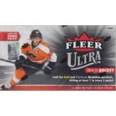 2014/15 Fleer Ultra Hockey Hobby 8 Box Case