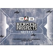 2014/15 Leaf ITG Heroes and Prospects Hockey Hobby 10 Box Case