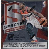 2014/15 Panini Spectra Basketball Hobby 5 Box Case