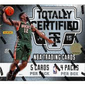 2014/15 Panini Totally Certified Basketball Hobby 15 Box Case