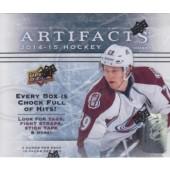 2014/15 Upper Deck Artifacts Hockey Hobby 16 Box Case