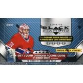 2014/15 Upper Deck Black Diamond Hobby Hockey 12 Box Case