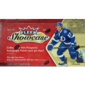 2014/15 Upper Deck Fleer Showcase Hockey Hobby 12 Box Case