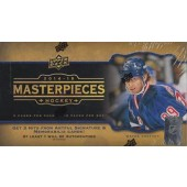 2014/15 Upper Deck Masterpieces Hobby Hockey 10 Box Case