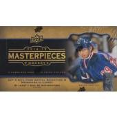 2014/15 Upper Deck Masterpieces Hobby Hockey 20 Box Case