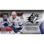2014/15 Upper Deck SPx Hockey Hobby 8 Box Case