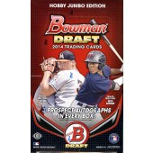 2014 Bowman Draft Picks & Prospects Baseball Jumbo 8 Box Case