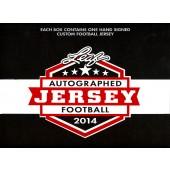 2014 Leaf Autographed Football Jersey Edition Football Box