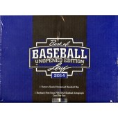 2014 Leaf Best of Baseball Unopened Edition 6 Box Case