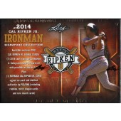 2014 Leaf Cal Ripken Ironman Signature Collection Baseball 10 Box Case