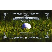 2014 Leaf Legends of the Links Golf Box