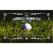2014 Leaf Legends of the Links Golf 12 Box Case