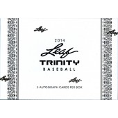 2014 Leaf Trinity Baseball Hobby Box