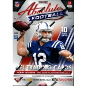 2014 Panini Absolute Memorabilia Football Hobby 10 Box Case
