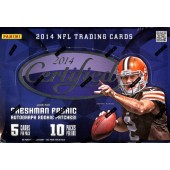 2014 Panini Certified Football Hobby 24 Box Master Case