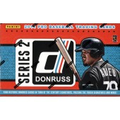 2014 Panini Donruss Series 2 Baseball Hobby 16 Box Case