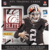 2014 Panini Elite Football Hobby 12 Box Case