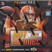 2014 Panini Hot Rookies Football Hobby 12 Box Case
