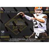 2014 Panini Limited Football Hobby 15 Box Case