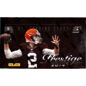 2014 Panini Prestige Football Hobby 12 Box Case