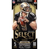 2014 Panini Select Football Hobby 14 Box Case