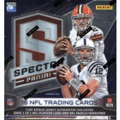 2014 Panini Spectra Football Hobby 8 Box Case