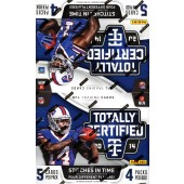 2014 Panini Totally Certified Football Hobby 14 Box Case