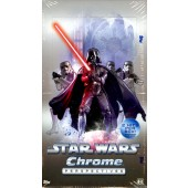 2014 Topps Star Wars Chrome Perspectives Hobby 12 Box Case