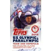 2014 Topps US Olympics Hobby Box