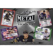 2015/16 Leaf Metal Hockey 15 Box Case