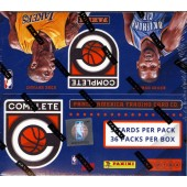 2015/16 Panini Complete Basketball Hobby Box