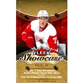 2015/16 Upper Deck Fleer Showcase Hockey Hobby 8 Box Case