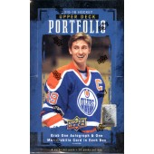 2015/16 Upper Deck Portfolio Hockey Hobby 8 Box Case