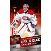 2015/16 Upper Deck Series 1 Hockey Hobby 12 Box Case